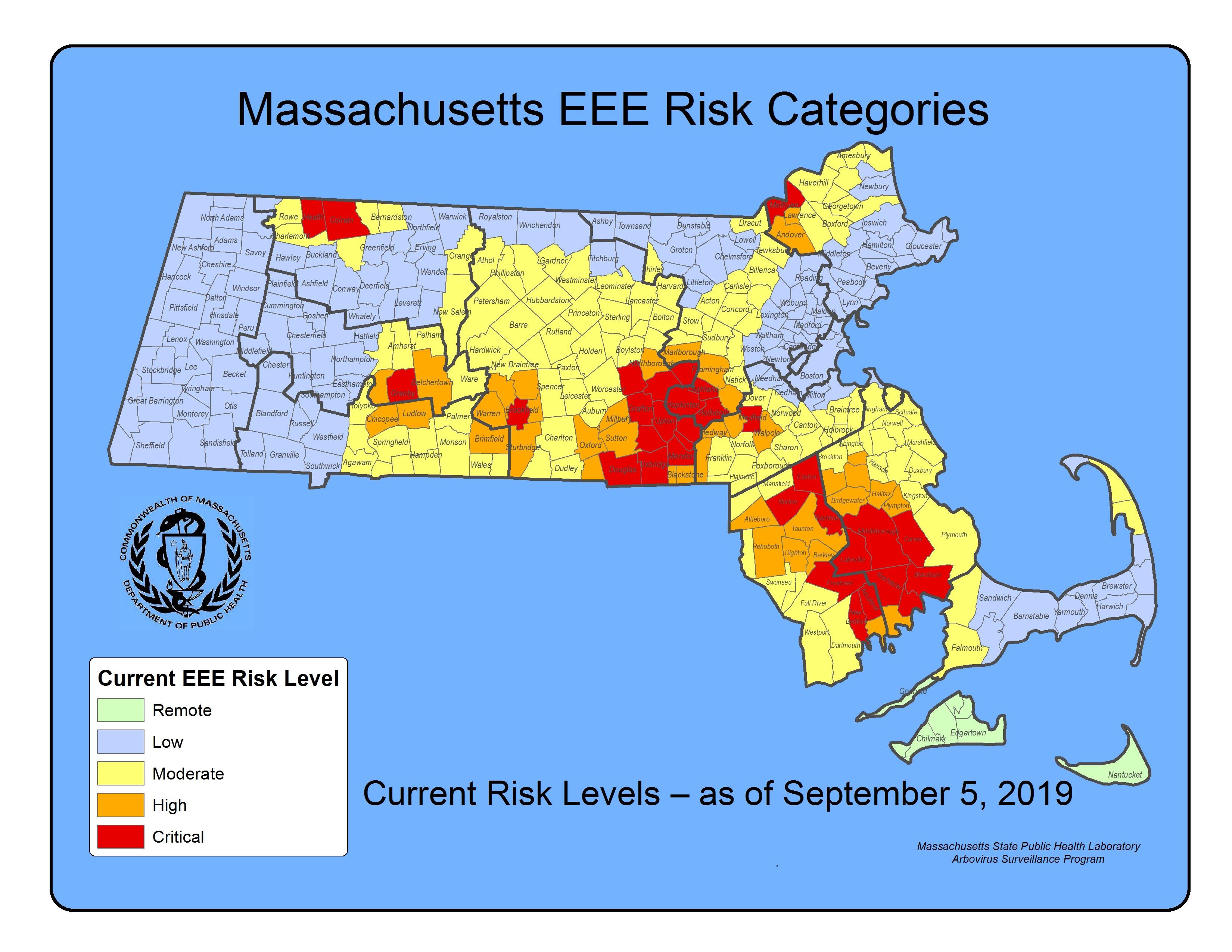 EEE Risk Map